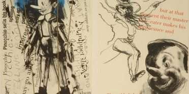 """Pinocchio""  –  Jim Dine – 4707B-4708B"