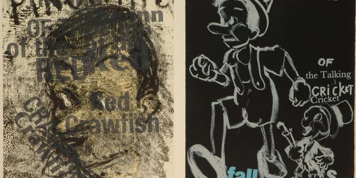 "Jim Dine - ""Pinocchio""  -  Jim Dine - 4711B-4712B"