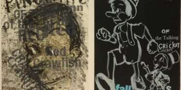 """Pinocchio""  –  Jim Dine – 4711B-4712B"