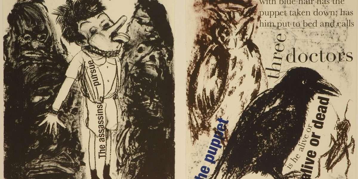 "Jim Dine - ""Pinocchio""  -  Jim Dine - 4713B-4714B"