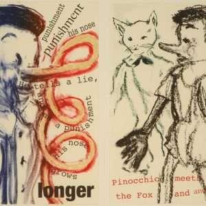 "Jim Dine - ""Pinocchio"" - Jim Dine - 4715B-4716B"