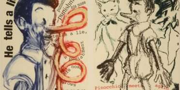 """Pinocchio""  –  Jim Dine – 4715B-4716B"