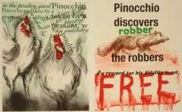 "Jim Dine - ""Pinocchio"" - Jim Dine - 4719B-4720B"