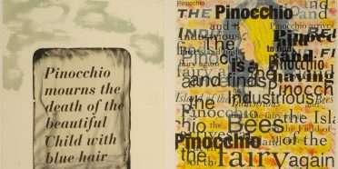 """Pinocchio""  –  Jim Dine – 4721B-4722B"