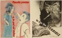 "Jim Dine - ""Pinocchio"" - Jim Dine - 4723B-4724B"