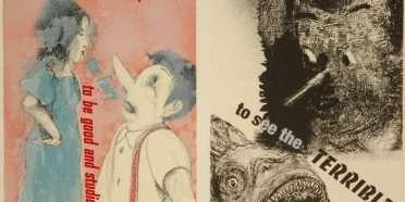 """Pinocchio""  –  Jim Dine – 4723B-4724B"