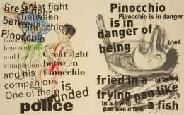 "Jim Dine - ""Pinocchio"" - Jim Dine - 4725B-4726B"