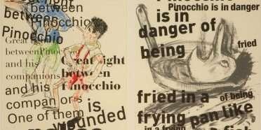 """Pinocchio""  –  Jim Dine – 4725B-4726B"