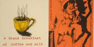 """Pinocchio""  –  Jim Dine – 4727B-4728B"