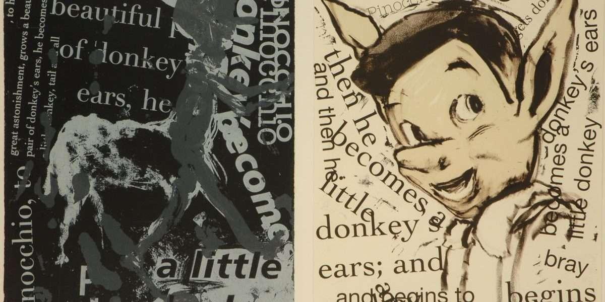 "Jim Dine - ""Pinocchio"" - Jim Dine - 4729B-4730B"