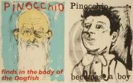 "Jim Dine - ""Pinocchio"" - Jim Dine - 4733B-4734B"