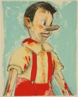 "Jim Dine - ""Pinocchio"" - Jim Dine - 4735B"