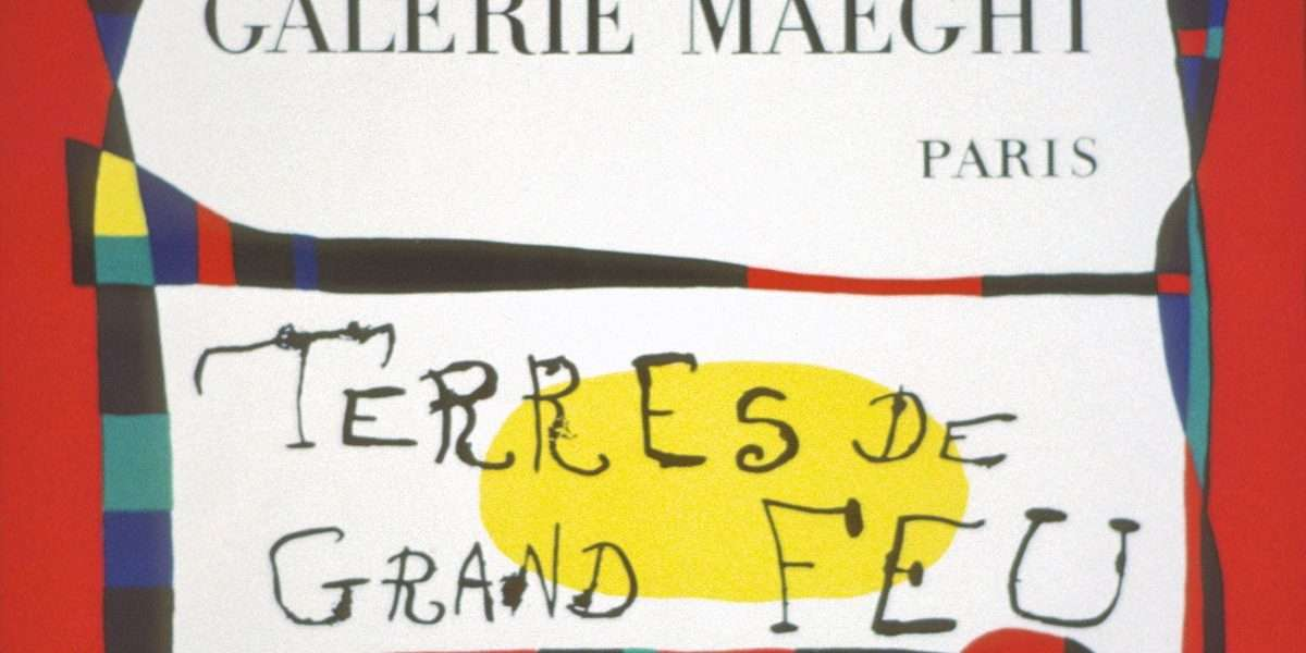 Joan Miro - Plakat  -  Joan Miro - 2043B
