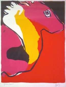 Karel Appel 1921-2006 - Komposition  -  Karel Appel 1921-2006 - 1669B
