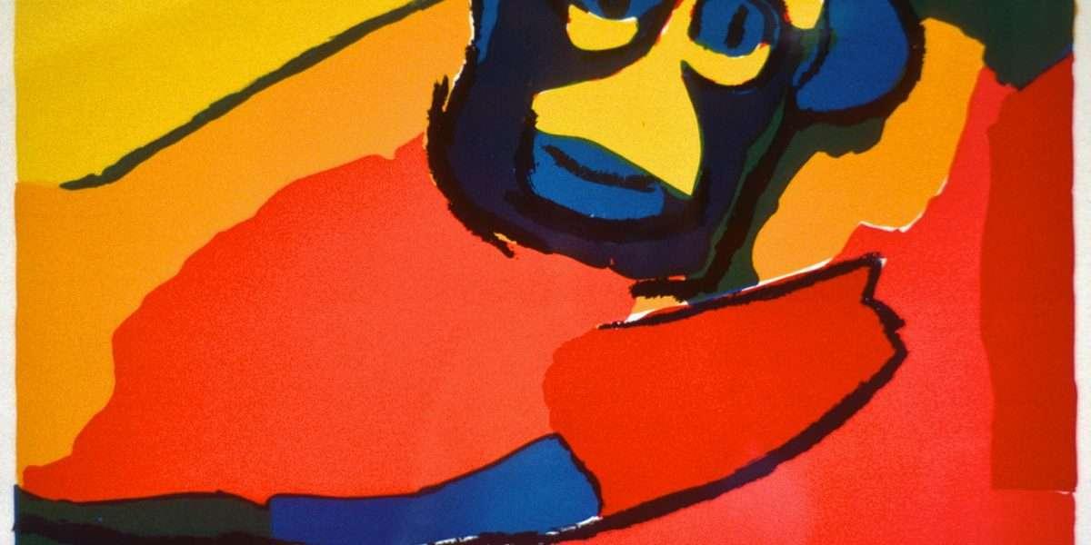 Karel Appel 1921-2006 - Komposition - Karel Appel 1921-2006 - 1857B