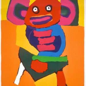 Karel Appel 1921-2006 - Kompostition - Karel Appel 1921-2006 - 1858B