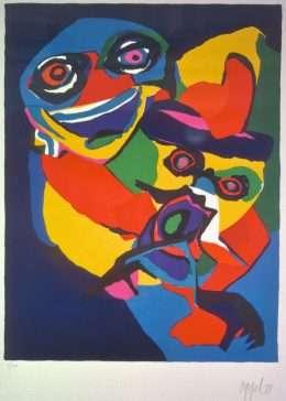 Karel Appel 1921-2006 - Komposition  -  Karel Appel 1921-2006 - 1859B