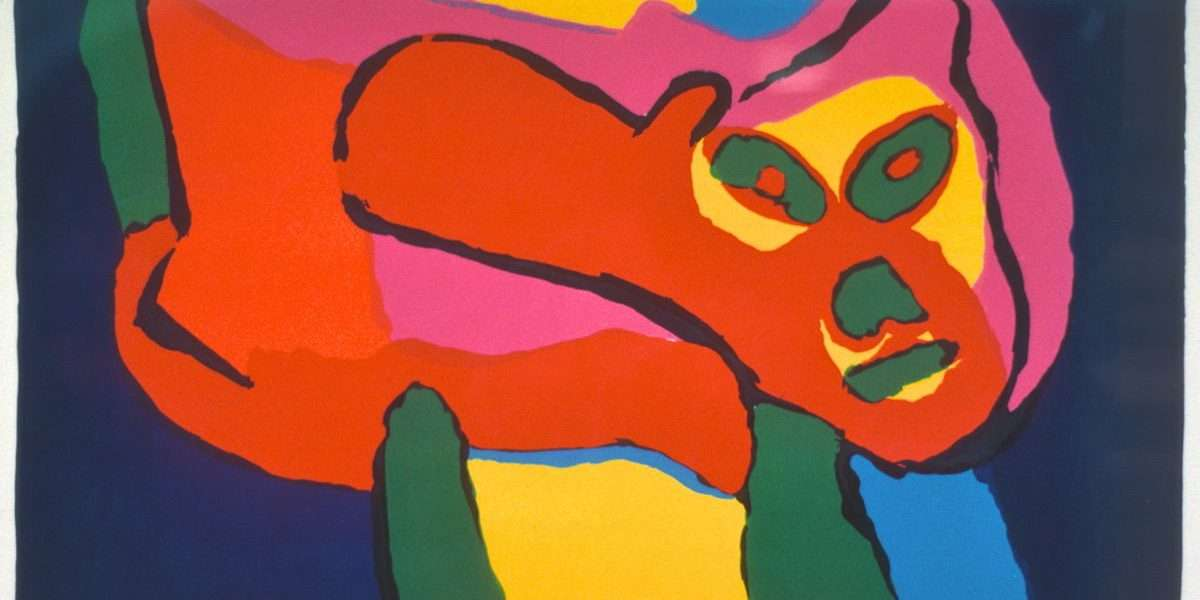 Karel Appel 1921-2006 - Komposition  -  Karel Appel 1921-2006 - 1860B