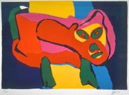 Karel Appel 1921-2006 - Komposition  -  Karel Appel 1921-2006 - 1860B
