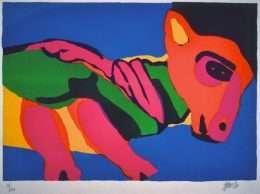Karel Appel 1921-2006 - Komposition - Karel Appel 1921-2006 - 1861B