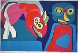 Karel Appel 1921-2006 - Komposition  -  Karel Appel 1921-2006 - 1862B