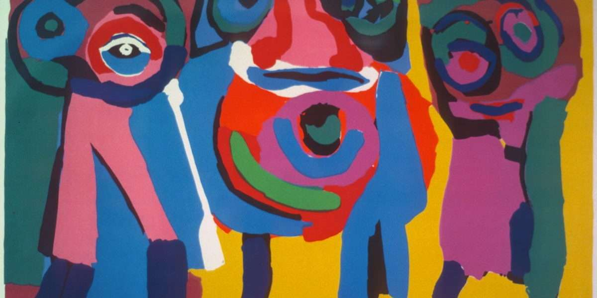 Karel Appel 1921-2006 - Komposition - Karel Appel 1921-2006 - 1863B