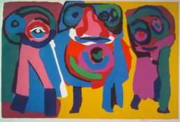 Karel Appel 1921-2006 - Komposition - Karel Appel 1921-2006 - 1863B