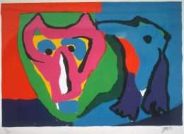 Karel Appel 1921-2006 - Komposition - Karel Appel 1921-2006 - 1864B