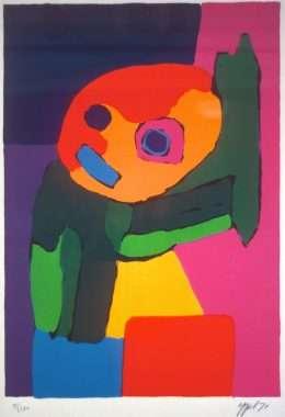 Karel Appel 1921-2006 - Komposition  -  Karel Appel 1921-2006 - 1865B