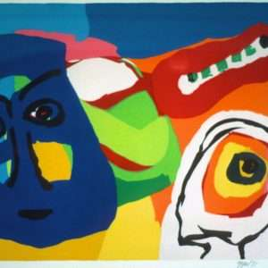 Karel Appel 1921-2006 - Komposition  -  Karel Appel 1921-2006 - 1866B