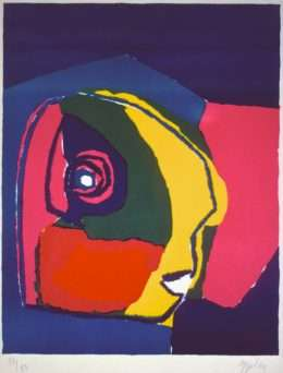 Karel Appel 1921-2006 - Komposition - Karel Appel 1921-2006 - 1891B