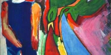 Mand og fugl  –  Kenn André Stilling – 3428A