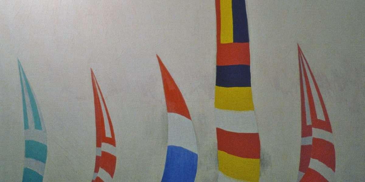 Knud Hansen - Kapsejlads I - Knud Hansen - 4484A