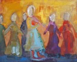 Lise Malinovsky - Dansende damer - Lise Malinovsky - 4392A
