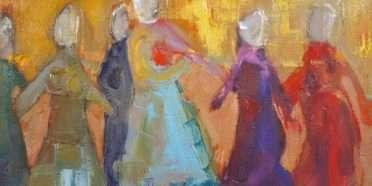 Dansende damer  –  Lise Malinovsky – 4392A