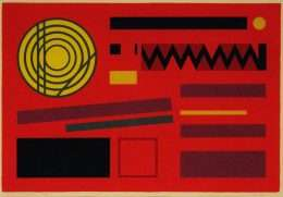 Mogens Lohmann - Komposition zig-zag  -  Mogens Lohmann - 1096B