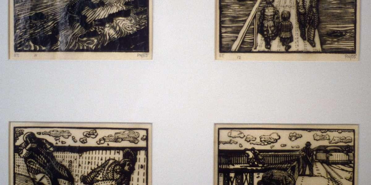 Palle Nielsen 1920-2000 - Vejen bliver vanskeligere/Nødbroen