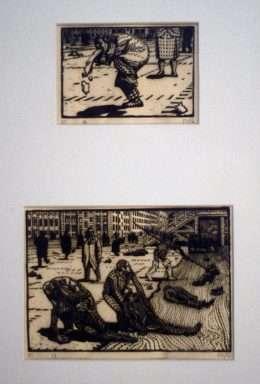 Palle Nielsen 1920-2000 - Ligfiskerne