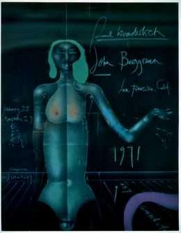 Paul Wunderlich - Plakat med torso  -  Paul Wunderlich - 2453B