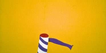 Rulle i gult landskab  –  Per Arnoldi – 3628A
