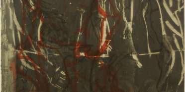 Figur-Træ-Dunkel  –  Per Kirkeby – 3170B