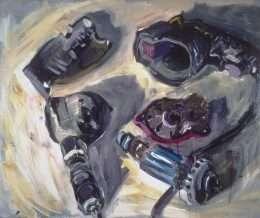 Peter Carlsen - 5 dele af en elektrisk boremaskine  -  Peter Carlsen - 3140A