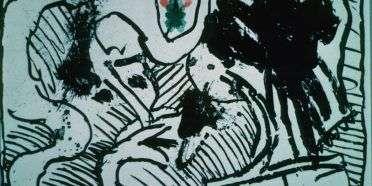 Plakat  –  Pierre Alechinsky – 1645B