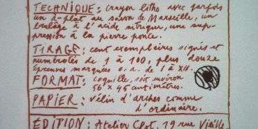 Forord og introduktion  –  Pierre Alechinsky – 1722B