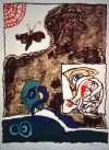 Komposition  –  Pierre Alechinsky – 3209B