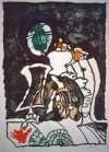 Pierre Alechinsky - Komposition - Pierre Alechinsky - 3210B
