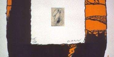 Komposition  –  Pierre Alechinsky – 3212B