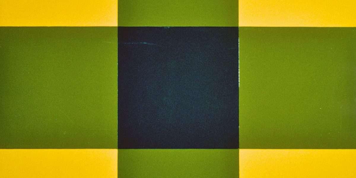 Poul Gernes 1925-1996 - Kvadrater VI  -  Poul Gernes 1925-1996 - 1521A