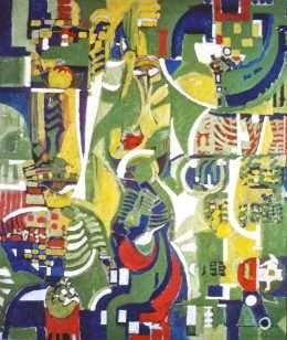 Poul Lillesøe - Flydende figurer  -  Poul Lillesøe - 1139A
