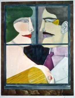 Richard Lindner - Le Chasseur - Richard Lindner - 2121B